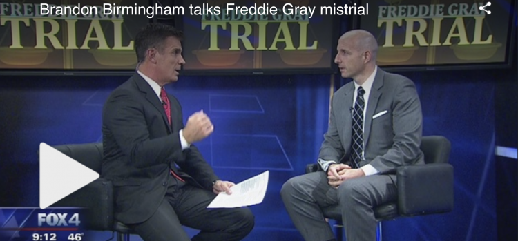 Judge Brandon Birmingham talks Freddie Gray mistrial