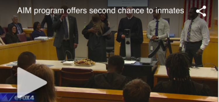 Dallas County District Attorney's AIM program allows second chance for inmates