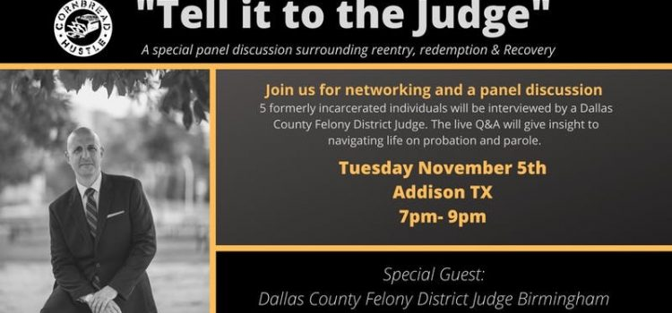 """Tell It To The Judge,"" Tuesday at 7. Plus free pizza."